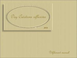 Day Crations rflexives 2013 Dfilement manuel Cest en