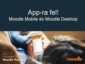 Appra fel Moodle Mobile s Moodle Desktop Mirl