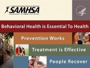 SAMHSA State TA Project Planning Councils 101 Orientation