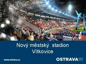 Statutrn msto Ostrava Odbor ekonomickho rozvoje Nov mstsk