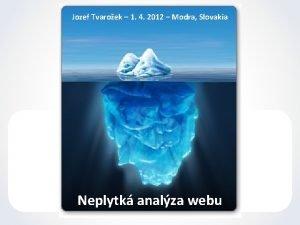 Jozef Tvaroek 1 4 2012 Modra Slovakia Neplytk