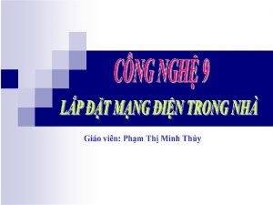 CO NG NGHE LP 9 MACH IEN TIET