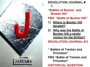 READ HIGHLIGHT AND ANSWER YOUR ASSIGNED QUESTIONS REVOLUTION