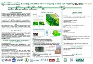 Land Cover Land Use Change Ecosystems Enabling Annual