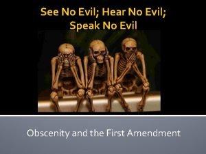 See No Evil Hear No Evil Speak No
