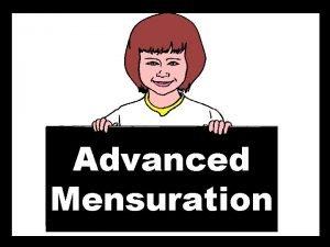 Advanced Mensuration T Madas T Madas exa peta