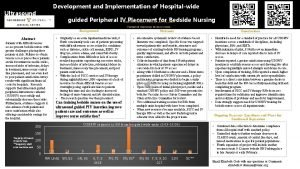 Development and Implementation of Hospitalwide Ultrasound guided Peripheral