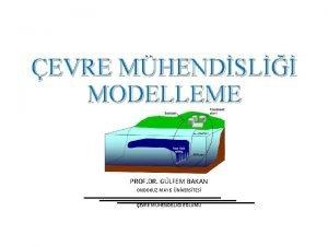 EVRE MHENDSL MODELLEME PROF DR GLFEM BAKAN ONDOKUZ