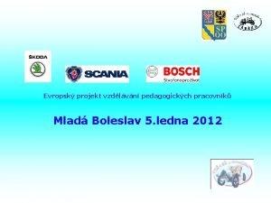 Evropsk projekt vzdlvn pedagogickch pracovnk Mlad Boleslav 5
