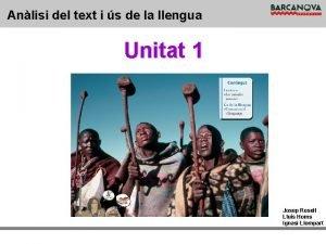Anlisi del text i s de la llengua
