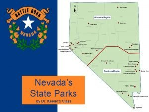 State Park Map Nevadas State Parks by Dr