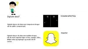 Digitale data Computerspillet Pong Digitale data er de