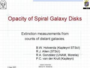 Opacity of Spiral Galaxy Disks Extinction measurements from