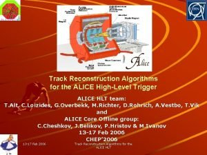Track Reconstruction Algorithms for the ALICE HighLevel Trigger