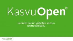 Suomen suurin yritysten kasvun sparrauskilpailu SPARRAAMASSA YLI 900