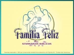1 Seminario Cuatro Grandes Secretos de una Familia