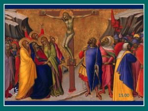 15 00 Giubileo della Misericordia La misericordia offre