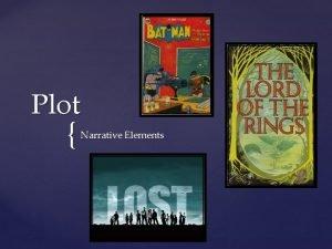 Plot Narrative Elements What is Plot Plot is
