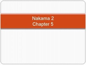 Nakama 2 Chapter 5 Asking for and Giving