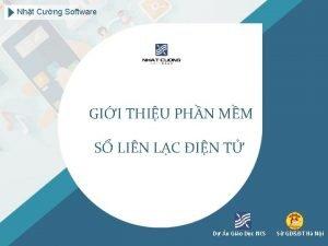 Nht Cng Software GII THIU PHN MM S