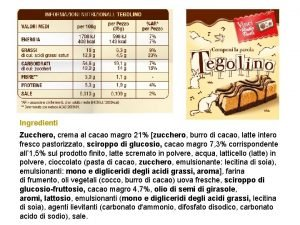 Ingredienti Zucchero crema al cacao magro 21 zucchero