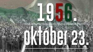 1956 Oktber 23 szovjet megszlls elleni forradalom kezdete