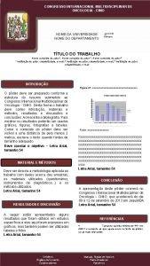 CONGRESSO INTERNACIONAL MULTIDISCIPLINAR DE DE CONGRESSO INTERNACIONAL MULTIDISCIPLINAR