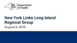 New York Links Long Island Regional Group August