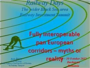 Railway Days The wider Black Sea area Railway