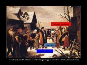 Paysans misreux Aumne Louis XVI Louis Hersent Louis