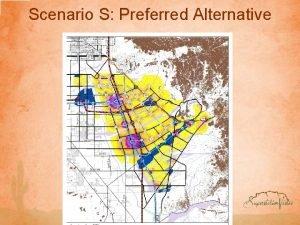 Scenario S Preferred Alternative Scenario S Creating Mixeduse
