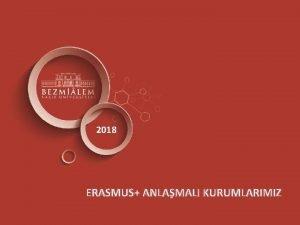 2018 ERASMUS ANLAMALI KURUMLARIMIZ ERASMUS ANLAMALARIMIZ AVUSTURYA FH