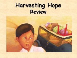Harvesting Hope Review What genre is Harvesting Hope