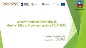 Gmina i Miasto Stawiszyn Lokalny Program Rewitalizacji Gminy