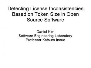 Detecting License Inconsistencies Based on Token Size in