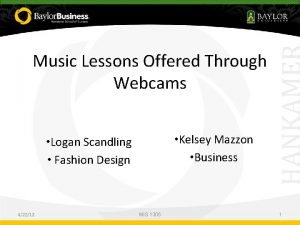 Music Introduction Lessons Offered Through To Computers What