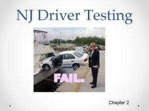 NJ Driver Testing Chapter 2 Driver License Testing