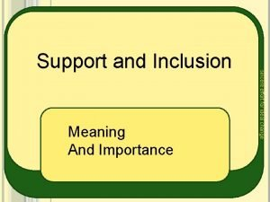 Meaning And Importance sincere effort for ideal change