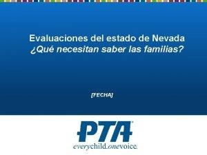 Evaluaciones del estado de Nevada Qu necesitan saber