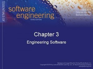 Chapter 3 Engineering Software Engineering Software As size