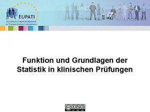 Europische Patientenakademie zu Therapeutischen Innovationen Funktion und Grundlagen