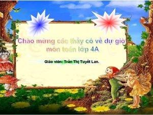 Gio vin Trn Th Tuyt Lan Kim tra