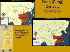 Song Sung Dynasty 960 1279 Same dynasty but