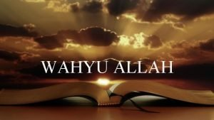 WAHYU ALLAH Why should God reveals himself to