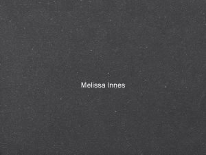 Melissa Innes Front Cover This magazine has chosen