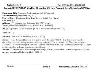 September 2012 Doc IEEE 802 15 12 0533