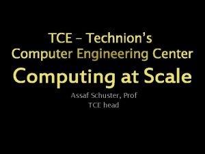 Assaf Schuster Prof TCE head Israeli leadership status