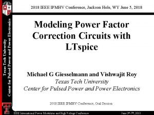 3 0 Texas Power Tech University Center for