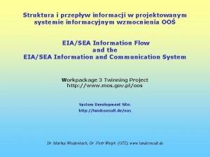 Struktura i przepyw informacji w projektowanym systemie informacyjnym