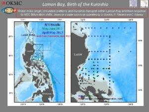 Lamon Bay Birth of the Kuroshio Water mass